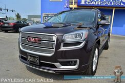 2015_GMC_Acadia_Denali / AWD / Heated & Ventilated Leather Seats / Heated Steering Wheel / Navigation / Sunroof / Auto Start / Bose Speakers / Blind Spot & Lane Departure Alert / Rear DVD / Bluetooth / 3rd Row / Seats 7 / Tow Pkg / 1-Owner_ Anchorage AK