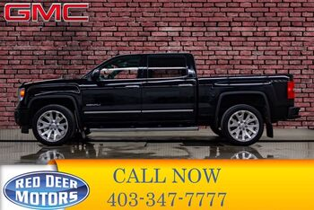 2015_GMC_Sierra 1500_4x4 Crew Cab Denali Leather Roof Nav_ Red Deer AB