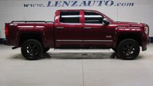 GMC Sierra 1500 4x4 Crew Cab SLT: 5.3L-ALL TERRAIN-Z71-SHORT-MOON-REVERSE CAMERA-WIFI-LEATHER-CD PLAYER-4X4-1 OWNER 2015