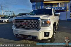 2015_GMC_Sierra 1500_Denali / 4WD / Heated & Cooled Leather Seats / Heated Steering Wheel / Navigation / Sunroof / Bose Speakers / Auto Start / Driver Alert Pkg / Lane Departure & Collision Warning / Bluetooth / Back Up Camera / Tow Pkg / 1-Owner_ Anchorage AK