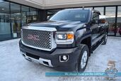 2015 GMC Sierra 2500HD Denali / 4X4 / Crew Cab / 6.0L Vortec V8 / Heated Leather Seats & Steering Wheel / Navigation / Sunroof / Bose Speakers / Rear Entertainment / Auto Start / Bed Liner / Tonneau Cover / Low Miles / Tow Pkg