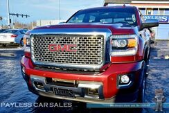 2015_GMC_Sierra 2500HD_Denali / 4X4 / Crew Cab / 6.6L DURAMAX Diesel / Heated Leather Seats / Navigation / Auto Start / Driver Alert Pkg / Sunroof / Rear Entertainment / Bose Speakers / Bluetooth / Back-Up Camera / Bed Liner / 1-Owner_ Anchorage AK