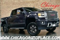 2015_GMC_Sierra 2500HD available WiFi_Denali HD - CREW CAB 4WD DURAMAX 6.6L TURBO-DIESEL V8 B20 ENGINE ALLISON TRANSMISSION NAVIGATION BACKUP CAMERA BLACK LEATHER HEATED/COOLED SEATS PARKING SENSORS VISION OFF ROAD WHEELS_ Bensenville IL