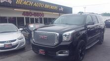 GMC YUKON XL 1500 SLT, AUTOCHECK CERTIFIED, DVD, NAVIGATION, HEATED & COOLED LEATHER, 3RD ROW, ONLY 77K MILES! 2015