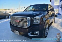 2015_GMC_Yukon_Denali / AWD / 6.2L V8 / Heated & Cooled Leather Seats / Heated Steering Wheel / Navigation / Sunroof / Bose Speakers / Auto Start / Heads Up Display / Blind Spot Alert / Rear Entertainment / 3rd Row / Tow Pkg_ Anchorage AK