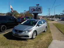 2015_HONDA_CIVIC_LX, BUY BACK GUARANTEE & WARRANTY, 6 DISC PLAYER, BLUETOOTH, AUX/USB, BACKUP CAMERA, ONLY 62K MILES!_ Virginia Beach VA
