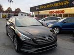 2015 HYUNDAI SONATA SPORT, BUYBACK GUARANTEE, WARRANTY, LEATHER, HEATED SEATS, SIRIUS RADIO, BACKUP CAM, ONSTAR,NICE!