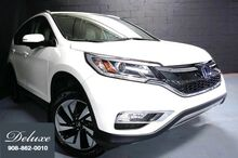 2015_Honda_CR-V_Touring AWD, Navigation System, Rear-View Camera, Adaptive Cruise Control, Blind Spot Monitor, Bluetooth Streaming Audio, Heated Leather Seats, Power Sunroof, 18-Inch Alloy Wheels,_ Linden NJ