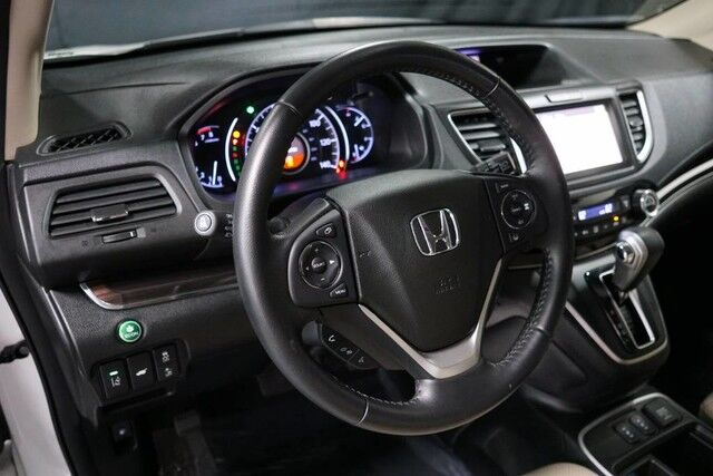 2015 Honda CR-V Touring AWD, Navigation System, Rear-View Camera, Adaptive Cruise Control, Blind Spot Monitor, Bluetooth Streaming Audio, Heated Leather Seats, Power Sunroof, 18-Inch Alloy Wheels, Linden NJ