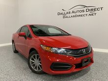 2015_Honda_Civic Coupe_LX_ Carrollton  TX