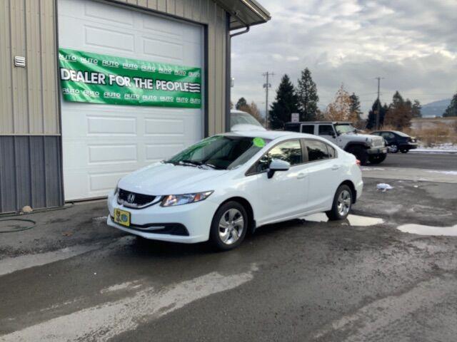 2015 Honda Civic LX Sedan CVT Spokane Valley WA