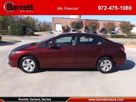 2015 Honda Civic Sedan LX Garland TX