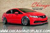 2015 Honda Civic Sedan Si - AIR LIFT AIRBAG SUSPENSION 6-SPEED MANUAL BAGGED WIDE BODY AERO KIT KEYLESS GO SUNROOF BLACK/RED CLOTH SI SPORT SEATS
