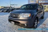 2015 Honda Pilot Touring / 4X4 / Heated Leather Seats / Sunroof / Navigation / Rear Entertainment / 3rd Row / Seats 8 / Bluetooth / Back Up Camera / Tow Pkg