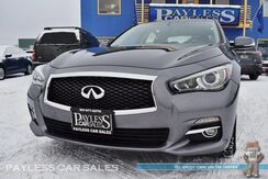 2015_INFINITI_Q50_Premium / AWD / Power & Heated Leather Seats / Navigation / Bose Speakers / Sunroof / Bluetooth / Back-Up Camera / Only 15k Miles / 1-Owner_ Anchorage AK