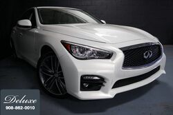 INFINITI Q50 Sport AWD Sedan, Navigation System, Rear-View Camera, Bose Surround Sound, Bluetooth Streaming Audio, Heated Leather Sport Seats, Power Sunroof, 19-Inch Alloy Wheels, 2015
