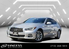 INFINITI Q50 Sport Navigation Backup Camera Roof Leather. 2015