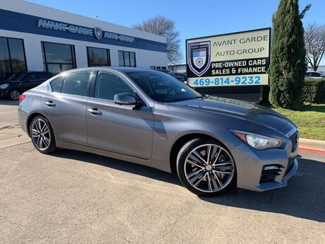 2015 INFINITI Q50S Hybrid Sport NAVIGATION REAR VIEW CAMERA, BOSE SOUND SYSTEM, HEATED PREMIUM LEATHER, SUNROOF!!! FULLY LOADED AND SUPER CLEAN!!! ONE OWNER!!! Plano TX