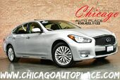 2015 INFINITI Q70L AWD - 3.7L V6 ENGINE 1 OWNER ALL WHEEL DRIVE NAVIGATION TOP VIEW CAMERAS KEYLESS GO BLACK LEATHER HEATED/COOLED SEATS HEATED STEERING WHEEL SUNROOF XENONS