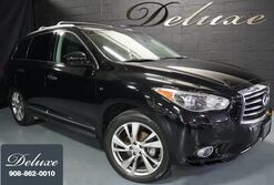 INFINITI QX60 AWD, Deluxe Touring Package, Navigation System, Rear-View Camera, DVD Entertainment, Bose Surround Sound, Bluetooth Streaming Audio, Ventilated Leather Seats, Power Sunroof, 20-Inch Alloy Wheels, 2015