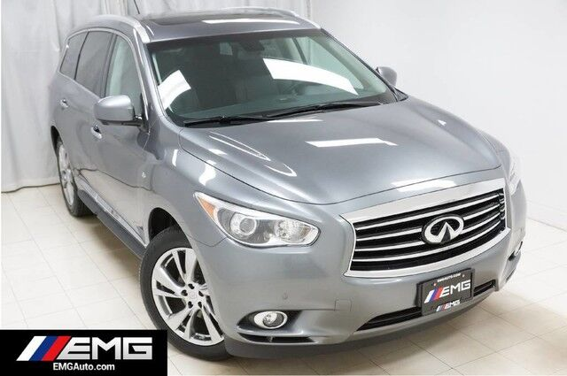 2015 INFINITI QX60 AWD Touring Technology Drivers Assist Navigation Entertainment System 360 Camera 1 Owner Avenel NJ