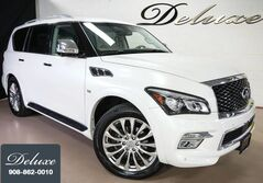 INFINITI QX80 4WD, Deluxe Technology Package, Navigation, Rear-View Camera, DVD Entertainment, Bose Premium Sound, Bluetooth Streaming Audio, Climate Control Leather Seats, 3RD Row Seats, Power Sunroof, 22-Inch Alloy Wheels, 2015