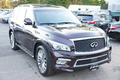 2015_INFINITI_QX80_4WD Navigation Technology Running Boards Luggage Rack Sunroof 360 Camera Entertainment System 1 Owner_ Avenel NJ