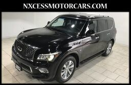 INFINITI QX80 Limited POWER 3RD ROW NAVIGATION SUNROOF 2015