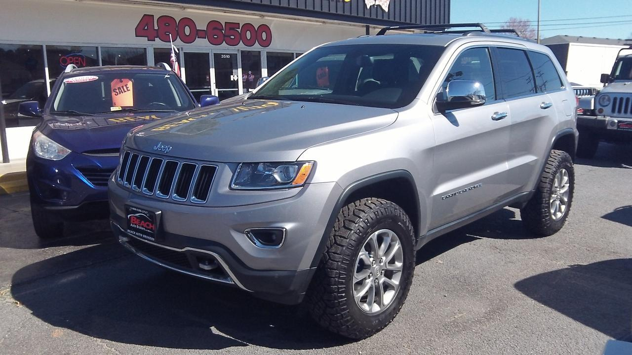 2015 JEEP GRAND CHEROKEE LIMITED 4X4, SUNROOF, HEATED ...