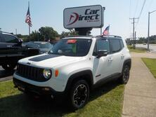 JEEP RENEGADE TRAILHAWK 4X4, ONE OWNER, CERTIFIED W/WARRANTY, BLUETOOTH, BACKUP CAM, ROOF RACKS, ONLY 34K MILES! 2015
