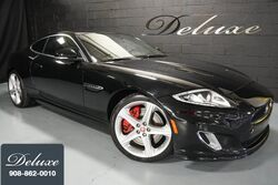 Jaguar XKR Coupe, Navigation System, Rear-View Camera, Bowers & Wilkins Sound, Ventilated Seats, 510 HP Supercharged V-8, 20-Inch Alloy Wheels, 2015