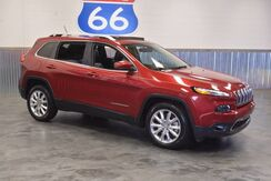 2015 Jeep Cherokee LIMITED EDITION! LEATHER! SUNROOF! NAVIGATION! LOW MILES!! LIKE NEW!!! Norman OK