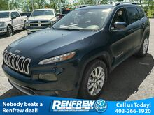 2015_Jeep_Cherokee_Limited 4X4, Heated Leather Seats, 8.4 Touchscreen, Nav_ Calgary AB