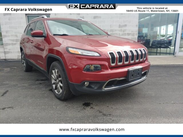 2015 Jeep Cherokee Limited Watertown NY
