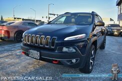 2015_Jeep_Cherokee_Trailhawk / 4X4 / 3.2L V6 / Power & Heated Seats / Heated Steering Wheel / Panoramic Sunroof / Auto Start / Bluetooth / Back Up Camera / Power Liftgate / Keyless Entry & Start / Aluminum Wheels / Tow Pkg_ Anchorage AK