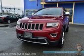 2015 Jeep Grand Cherokee Limited / 4WD / Advanced Tech Pkg / Heated & Cooled Leather Seats / Heated Steering Wheel / Navigation / Panoramic Sunroof / Auto Start / Back Up Camera / Blind Spot Alert / Tow Pkg