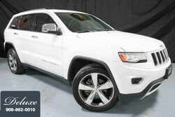Jeep Grand Cherokee Limited 4WD / Over $8400 in Options/ One-owner/ Jeep Warranty/ Blind Spot Assist 2015