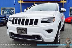 2015_Jeep_Grand Cherokee_Overland / 4X4 / Diesel / Advance Tech Pkg / Front & Rear Heated Leather Seats / Heated Steering Wheel / Navigation / Panoramic Sunroof / Rear Entertainment / Auto Start / Bluetooth / Back-Up Camera / Tow Pkg / 1-Owner_ Anchorage AK