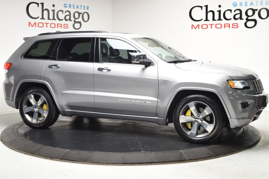 2015_Jeep_Grand Cherokee_Overland_ Glendale Heights IL