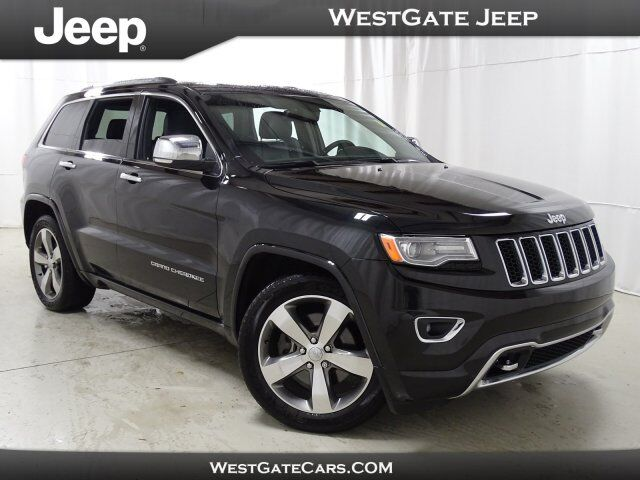 2015 Jeep Grand Cherokee Overland Raleigh NC