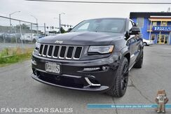 2015_Jeep_Grand Cherokee_SRT / AWD / 6.4L V8 HEMI / Heated & Ventilated Suede Seats / Heated Steering Wheel / Advanced Tech Pkg / Navigation / Sunroof / Auto Start / Harman Kardon Speakers / Adaptive Cruise Control / Blind Spot Alert / Bluetooth / Back Up Camera / Tow Pkg_ Anchorage AK