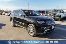 2015 Jeep Grand Cherokee Summit South Burlington VT