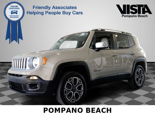 2015 jeep renegade limited pompano beach fl 26594597. Black Bedroom Furniture Sets. Home Design Ideas