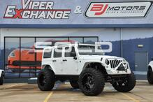 2015 Jeep Sahara Wrangler Unlimited Sahara Lifted 40