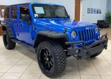 2015 Jeep Wrangler HYDRO BLUE LIFTED LOADED $8800 BUILD