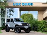 2015 Jeep Wrangler Sahara Hard Top Lifted Nav 6-Speed Manual 4WD