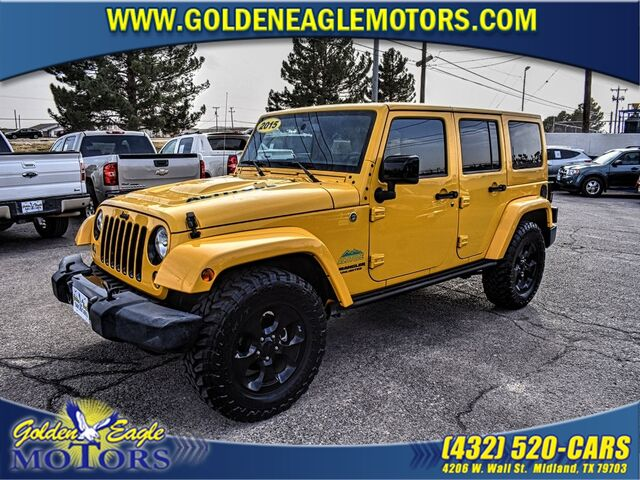 2015 Jeep Wrangler Unlimited 4WD 4dr Altitude Midland TX