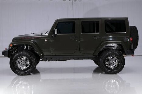 Jeep Wrangler Unlimited 4WD Rubicon Hard Rock 2015