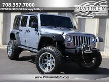 2015_Jeep_Wrangler Unlimited 4x4_Sport 2 Owner Lift Kit Wheels_ Hickory Hills IL