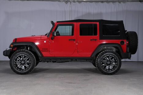 Jeep Wrangler Unlimited 4x4 Sport SUPERCHARGED 2015